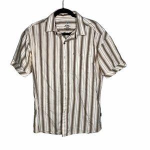 Kuhl men's shirt sleeve button up shirt large